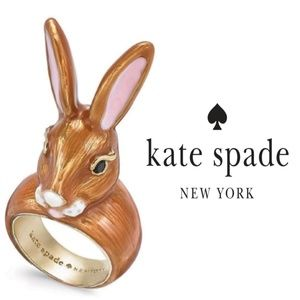 🔶️JUST IN🔶️ Kate Spade Desert Muse Bunny Ring